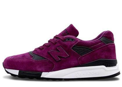 New Balance 998 Color Spectrum Purple Suedeの写真