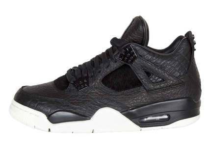 Nike Air Jordan 4 Retro Pony Hair Black の写真