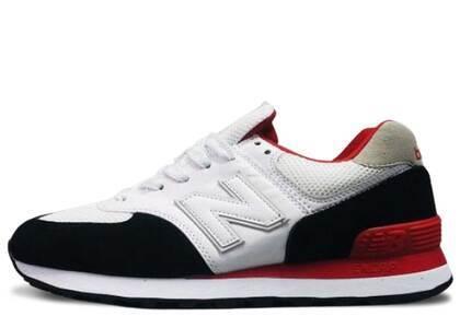 New Balance 574 White Red Blackの写真