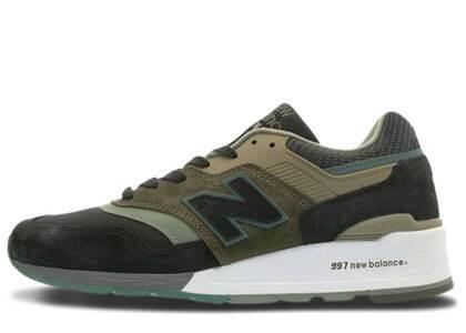 New Balance 997 Black Greenの写真