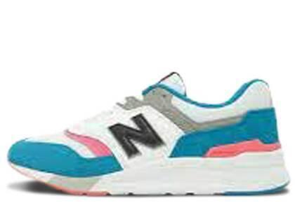 New Balance 997 White Aquaの写真