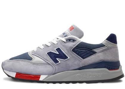 New Balance 998 Grey Navy Redの写真