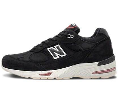 New Balance 991 Made in England Black Redの写真