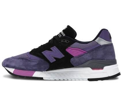 New Balance 998 Purple Blackの写真