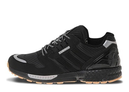 Neighborhood × Undefeated × Adidas ZX8000 Blackの写真