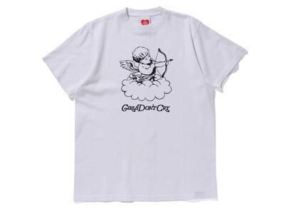 Girls Don't Cry GDC Angel Tee White/Black の写真