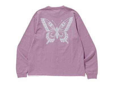 Girls Don't Cry GDC Butterfly Long Sleeve Lavenderの写真