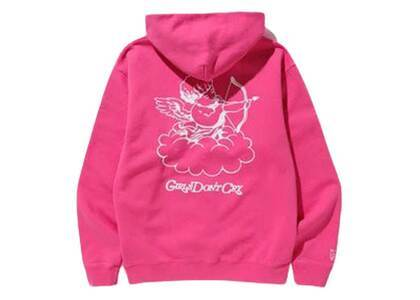 Girls Don't Cry GDC Angel Hoodie Hot Pinkの写真