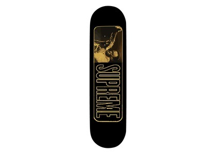 Supreme Unseen Miles David Skateboard Black (SS21)