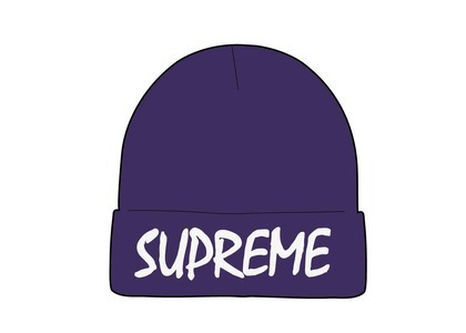 Supreme FTP Beanie Purple (SS21)の写真