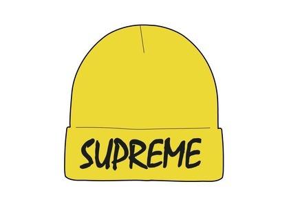 Supreme FTP Beanie Yellow (SS21)の写真