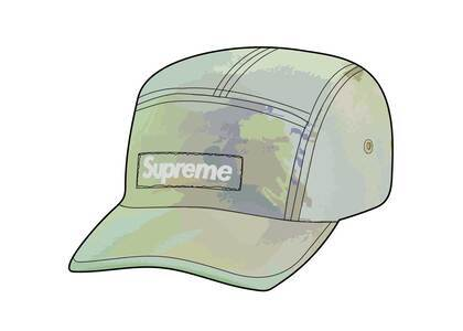 Supreme Reflective Dyed Camp Cap Gold (SS21)の写真