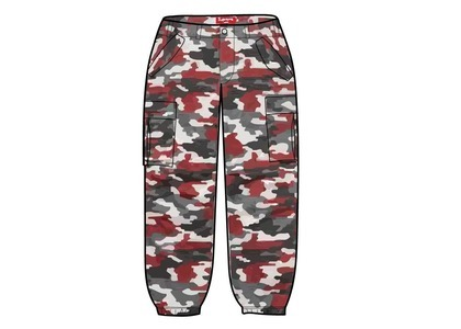 Supreme Cargo Pant Red Camo (SS21)の写真