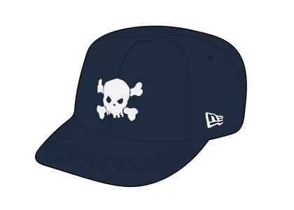 Supreme Skull New Era Navy (SS21)の写真