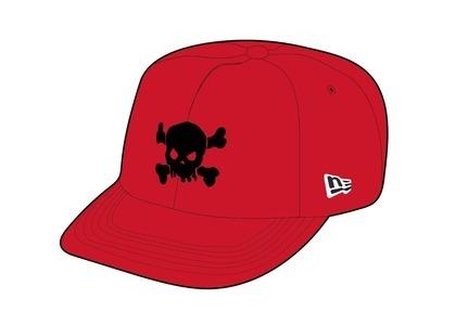 Supreme Skull New Era Red (SS21)の写真
