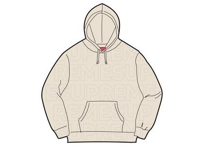 Supreme Embossed Logos Hooded Sweatshirt Natural ()SS21の写真