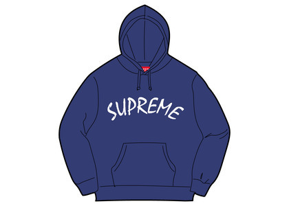 Supreme FTP Arc Hooded Sweatshirt Purpleの写真