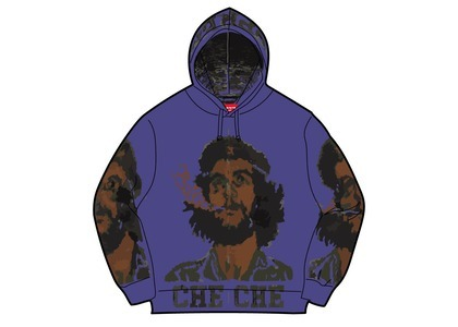Supreme Che Hooded Zip Up Sweater Purple (SS21)の写真