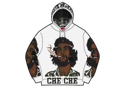 Supreme Che Hooded Zip Up Sweater Whiteの写真
