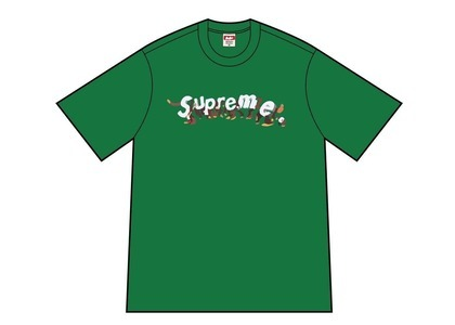 Supreme Apes Tee Green (SS21)の写真