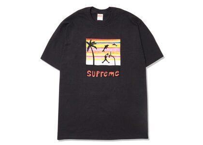Supreme Dunk Tee Black (SS21)の写真