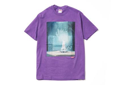 Supreme Fuck Tee Purple (SS21)の写真