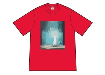 Supreme Fuck Tee Red (SS21)の写真