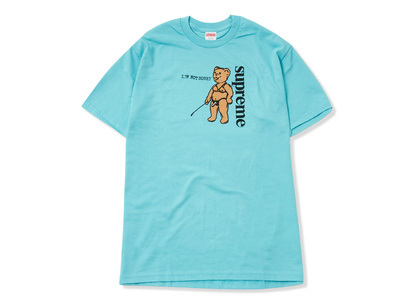 Supreme Not Sorry Tee Blue (SS21)の写真