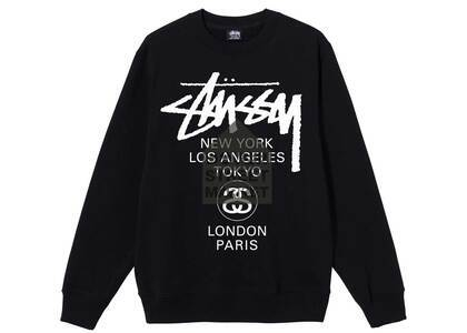 Dover Street Market × Stussy World Tour Pack Crew Black (SS21)の写真