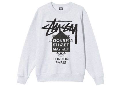 Dover Street Market × Stussy World Tour Pack Crew Ash Heather (SS21)の写真