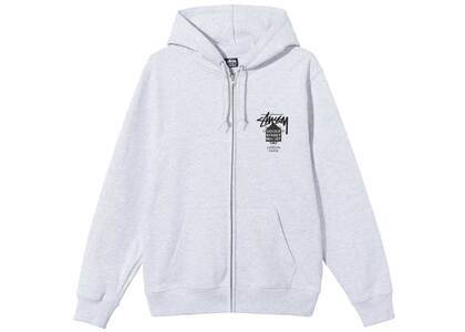 Dover Street Market × Stussy World Tour Pack Zip Hood Ash Heather (SS21)の写真