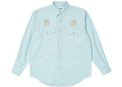 Palace Palasonic Shirt Light Blue (SS21)の写真