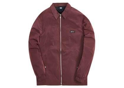 Kith Coaches Jacket Wrinkle Nylon Roan Rougeの写真