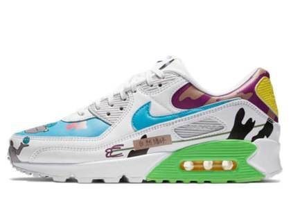 Nike Air Max 90 Flyleather Rouhan Wang