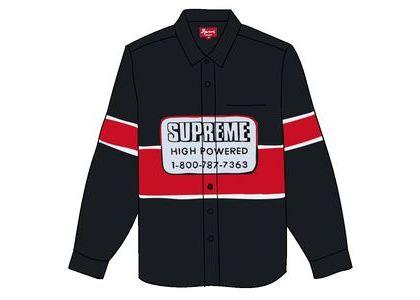 Supreme High Powered Work Shirt Blackの写真