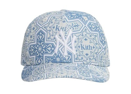 New Era & New York Yankees × Kith Moroccan Tile Low Crown Cap Canvas / Multiの写真