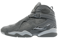 Jordan 8 Retro Cool Greyの写真