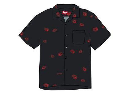 Supreme Eyes Rayon Shirt Blackの写真