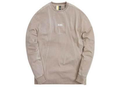 Kith L/S Paneled Pullover Quicksandの写真