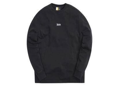 Kith L/S Paneled Pullover Black (SS21)の写真