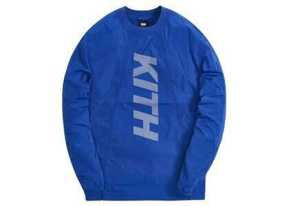 Kith L/S Panelled Wrinkle Nylon Pullover Surf The Webの写真