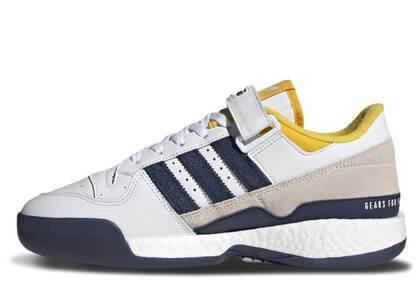 Human Made × Adidas Forum Boost White Navyの写真