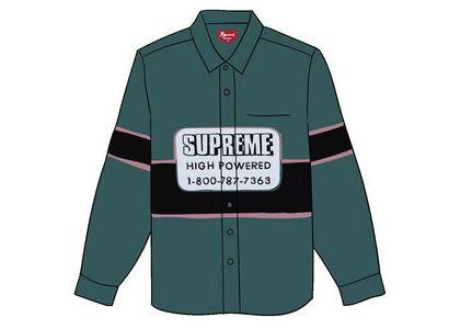 Supreme High Powered Work Shirt Light Greenの写真