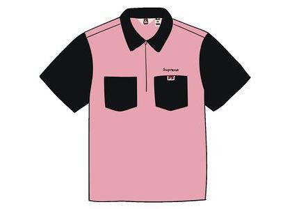Supreme Ben Davis Half Zip Work Shirt Blackの写真