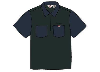 Supreme Ben Davis Half Zip Work Shirt Navyの写真
