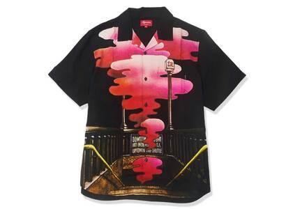 Supreme The Velvet Underground Rayon S/S Shirt Blackの写真