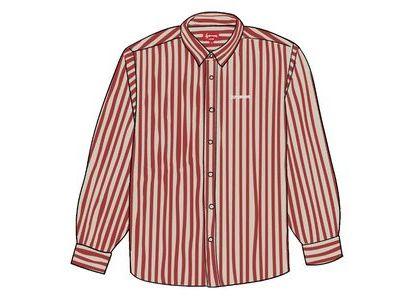Supreme Denim Shirt Red Stripeの写真