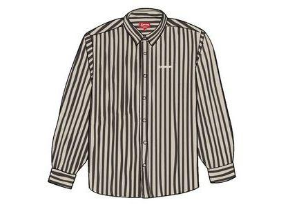 Supreme Denim Shirt Black Stripeの写真