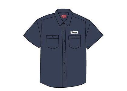 Supreme God's Favorite S/S Work Shirt Light Navyの写真