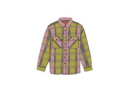 Supreme Heavyweight Flannel Shirt Greenの写真